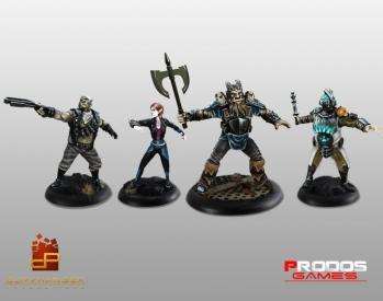 Shadowrun Miniatures: Shadowrun Chronicles Boston Lockdown Miniature Edition w/STEAM Key
