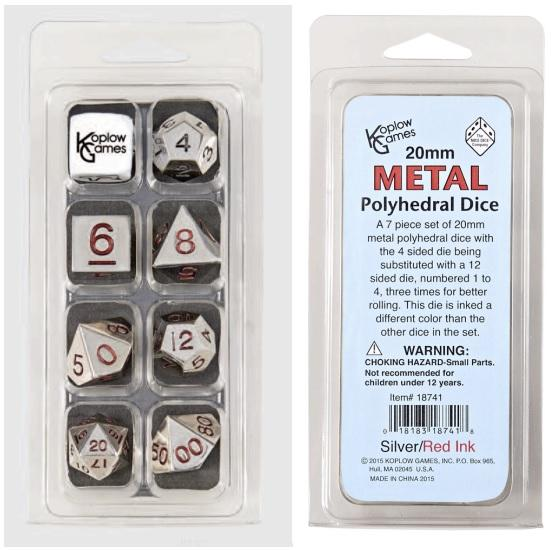 7-Piece Dice Set