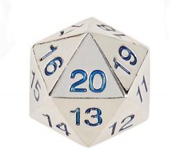Countdown D20 w/White Numbers (1)
