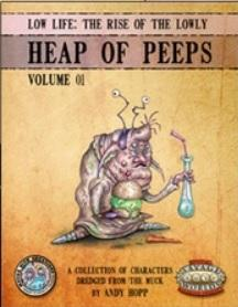 Savage Worlds RPG: Low Life - Heap Of Peeps, Set I