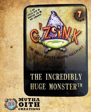 G'Zoink: The Incredibly Huge Monster (Expansion)