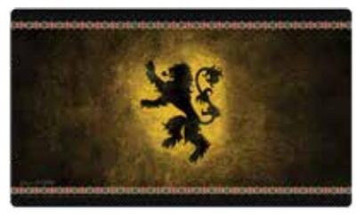 A Game of Thrones LCG: HBO Game of Thrones Playmat - House Lannister