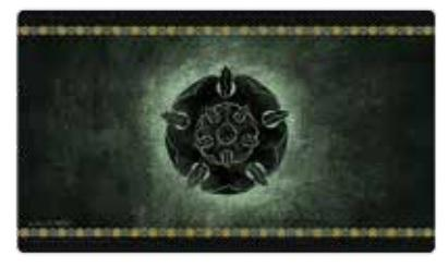 A Game of Thrones LCG: HBO Game of Thrones Playmat - House Tyrell
