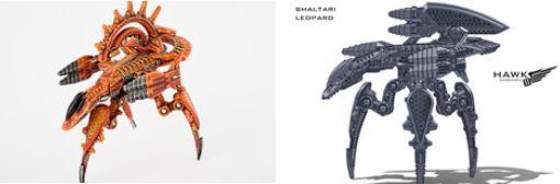 (Shaltari Tribes) Dreamsnare/Leopard Variant
