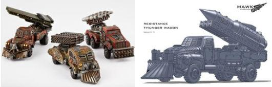 (The Resistance) Storm Wagon/Thunder Wagon Variant