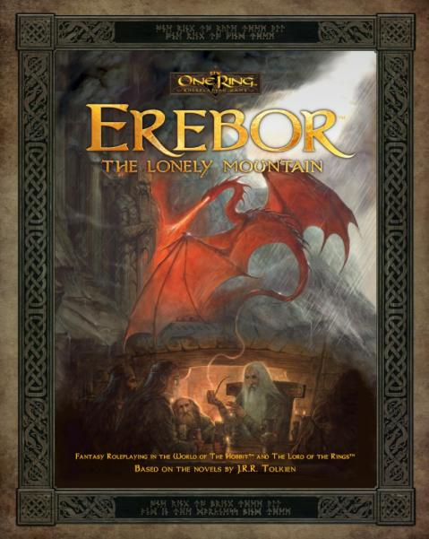 The One Ring RPG: Erebor, The Lonely Mountain