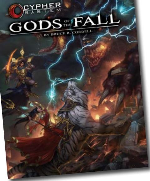 Cypher System RPG: Gods Of The Fall