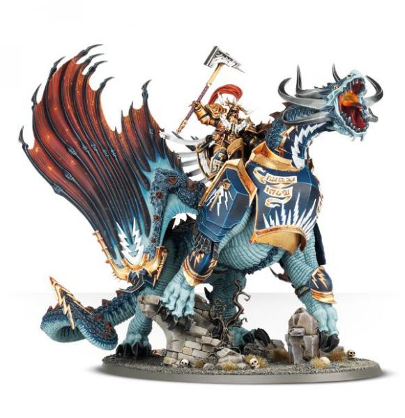 Age of Sigmar: Lord-Celestant on Stardrake or Drakesworn Templar
