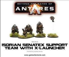 Beyond The Gates Of Antares: (Isorian) Senatax Support Team w/X-Launcher