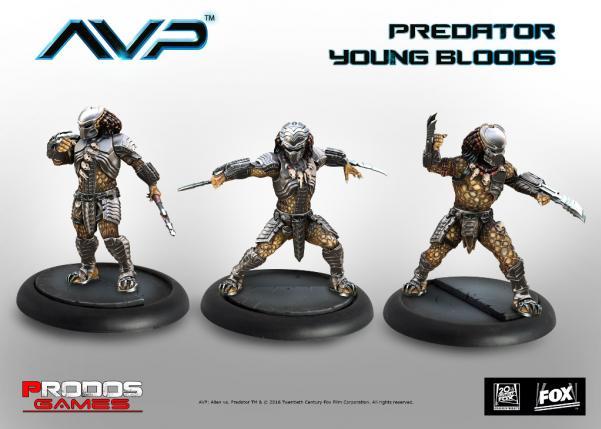 Alien vs Predator (AVP): Predator Young Bloods