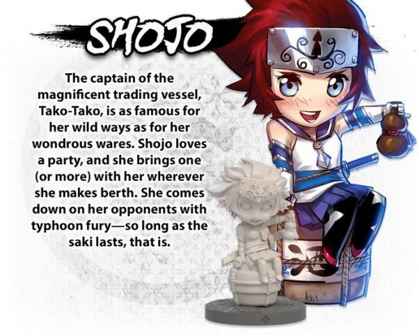 Ninja All-Stars: Shojo (Expansion)