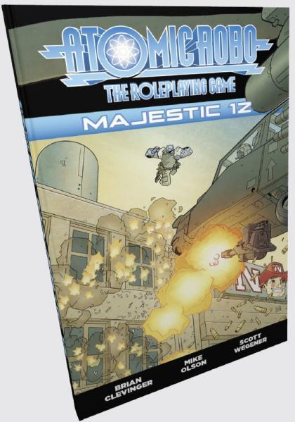 Atomic Robo RPG: Majestic 12