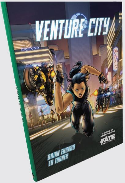 Fate RPG: Venture City