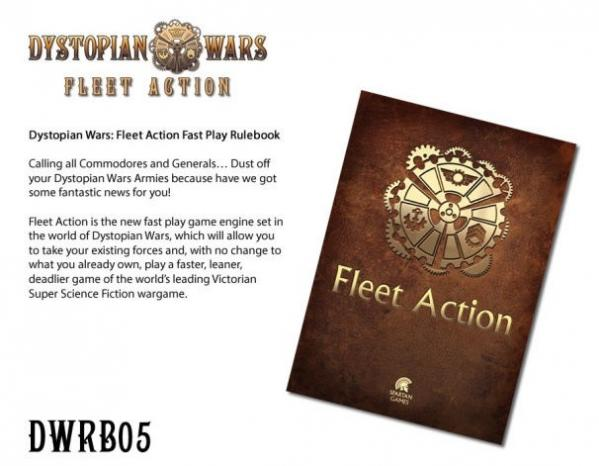 Dystopian Wars: Fleet Action Rules Booklet