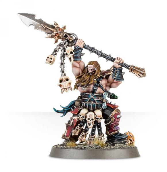 Age of Sigmar: Exalted Deathbringer with Impaling Spear