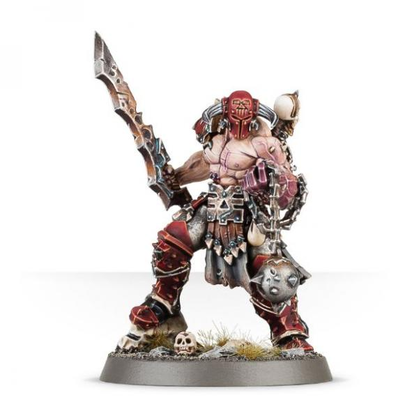 Age of Sigmar: Slaughterpriest with Hackblade and Wrath-hammer