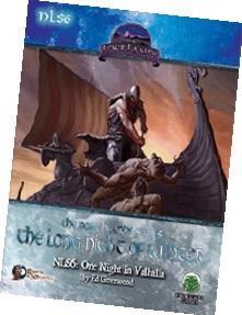Swords & Wizardry RPG: One Night In Valhalla (Northlands Series 6)