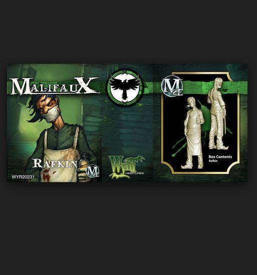 Malifaux: (The Resurrectionists) Rafkin