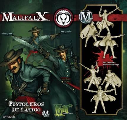 Malifaux: (The Guild) Pistoleros De Latigo
