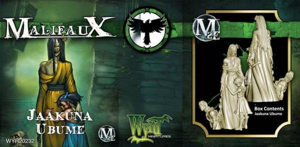 Malifaux: (The Resurrectionists) Jaakuna Ubume (New)
