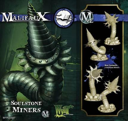 Malifaux: (The Arcanists) Soul Stone Miner