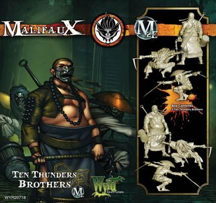 Malifaux: (Ten Thunders) Brothers