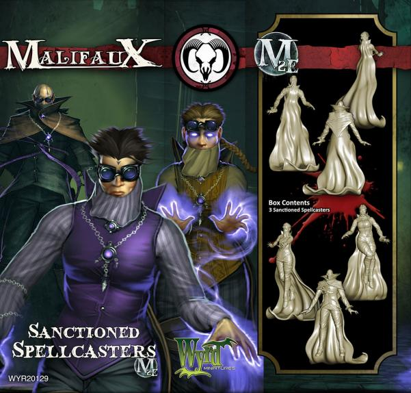 Malifaux: (The Guild) Sanctioned Spellcasters (3)