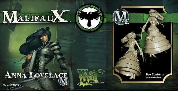 Malifaux: (The Resurrectionists) Anna Lovelace