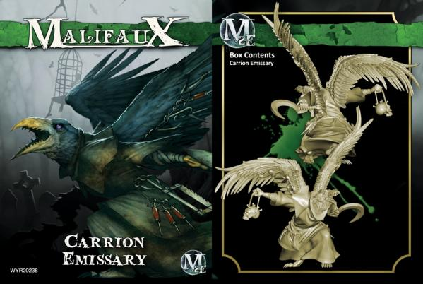 Malifaux: (The Resurrectionists) Carrion Emissary