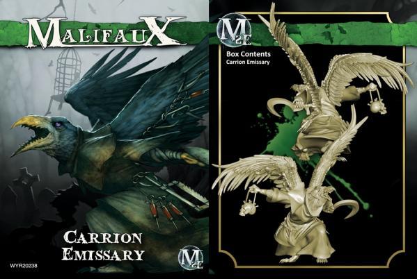 Malifaux: (The Resurrectionists) Carrion Emissary