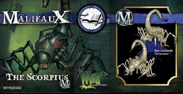 Malifaux: (The Arcanists) The Scorpius