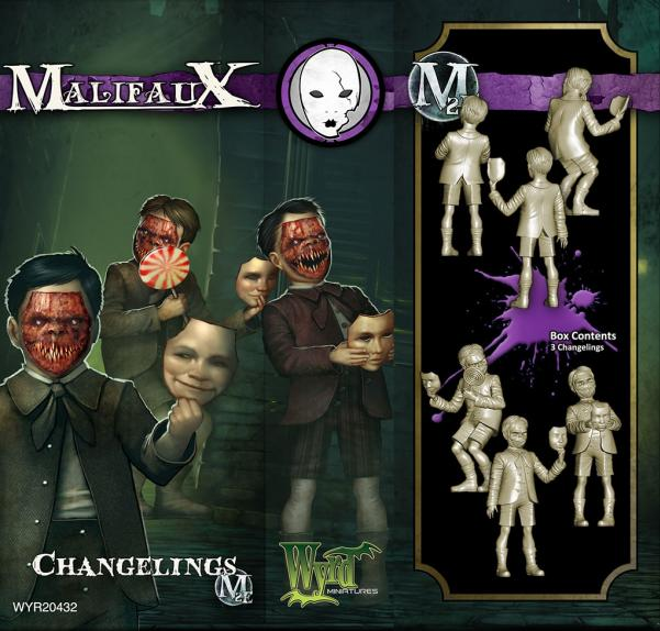 Malifaux: (The Neverborn) Changelings (3)