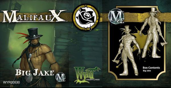Malifaux: (The Outcasts) Big Jake