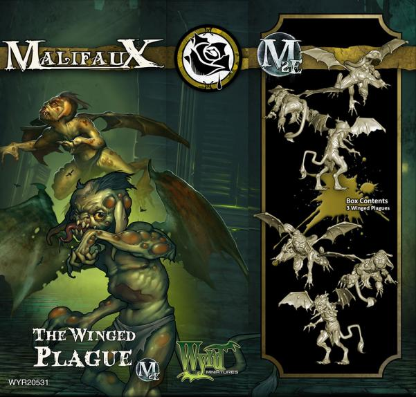 Malifaux: (The Outcasts) The Winged Plague (3)