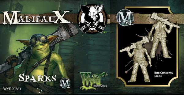 Malifaux: (The Gremlins) Sparks