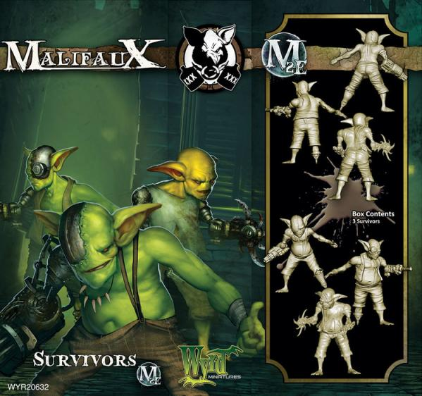 Malifaux: (The Gremlins) Survivors (3)
