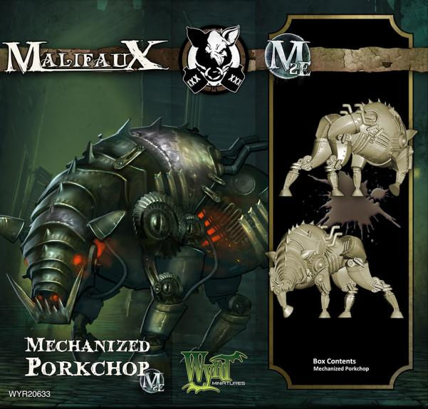 Malifaux: (The Gremlins) Mechanized Porkchop