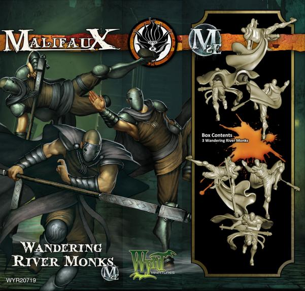 (Ten Thunders) Wandering River Monks (3)