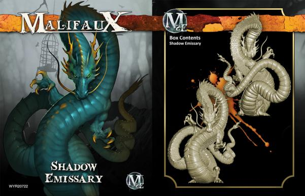 Malifaux: (Ten Thunders) Shadow Emissary