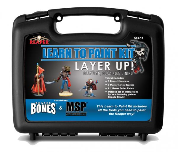 Bare Bones Learn To Paint Kit: Layer Up!