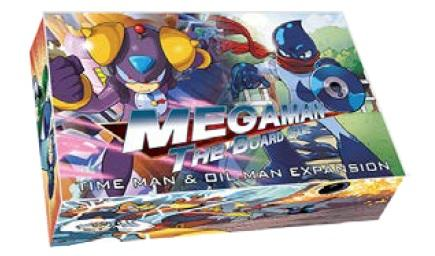 Megaman The Board Game: Time Man & Oil Man Expansion