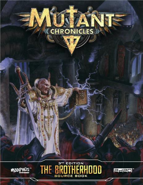 Mutant Chronicles RPG: Brotherhood Source Book (Full Color)