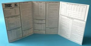 Dungeon Crawl Classics RPG: Judges Screen (Double Sided, 3 panels)
