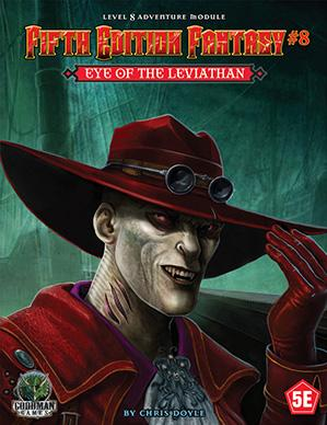 Dungeons & Dragons RPG: (Fifth Edition Fantasy) #8 Eye Of The Leviathan