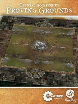 GuildBall: Proving Grounds Play Mat
