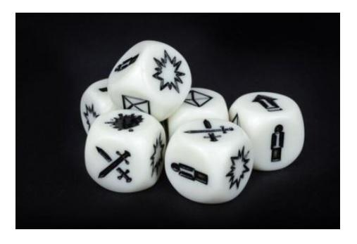 Deadzone, 2nd Edition: Command Dice