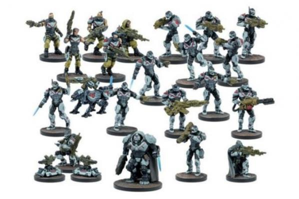 Deadzone, 2nd Edition: (Enforcer) Starter Set