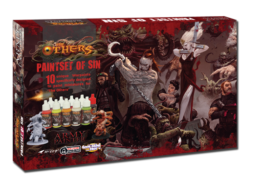 Warpaints: The Others Paint Set Of Sin (x10 exclusive colors)