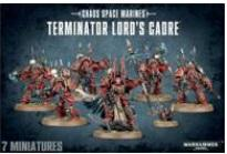 Warhammer 40K: Chaos Space Marine Terminator Lords Cadre