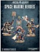 Warhammer 40K: Space Marine Heroes